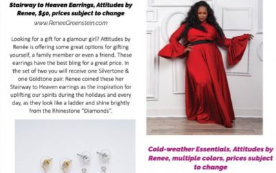 fabUplus Magazine Winter 2020: Attitudes by Renee